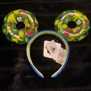 Mickey Mouse Pool Float Ear Headband New with Tag